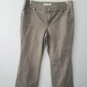 Chico's Platinum Denim Plus Sz 3 Bootcut Jeans